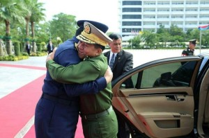 คสช. กอดรักกับทหารพม่า