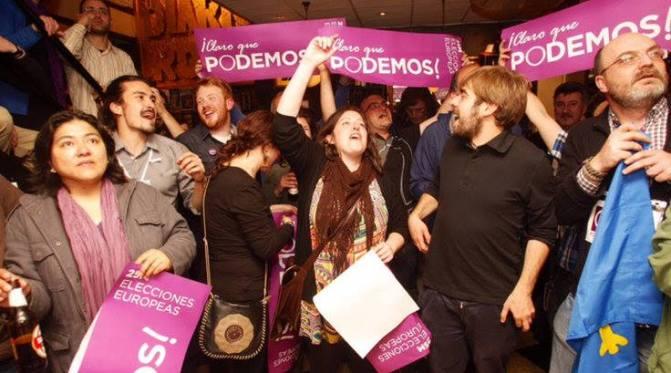พรรคฝ่ายซ้ายใหม่ในสเปนรุ่งเรือง