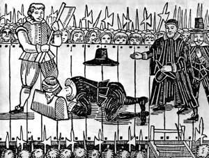 กษัตริย์ชาร์ส์โดนประหารชีวิตในการปฏิวัติอังกฤษ