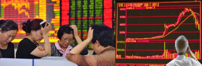 ทำไมฟองสบู่ถึงแตกในตลาดหุ้นจีน