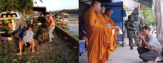 รัฐไทยไม่ควรทำให้การบิณฑบาตรของพระในปาตานีเกี่ยวพันกับทหาร