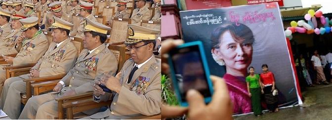ละครตลกร้ายของการเลือกตั้งในพม่า