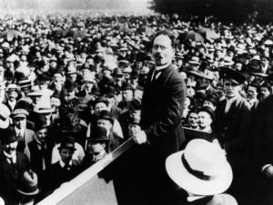 Retuschiertes OriginalAufnahmedatum: 1919Aufnahmeort: BerlinMaterial/Technik: FotografieSystematik: Geschichte / Deutschland / 20. Jh. / Weimarer Republik / Januar-Februar 1919 / Spartakus / Liebknecht