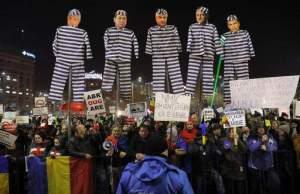 การปรท้วงที่โรเมเนีย