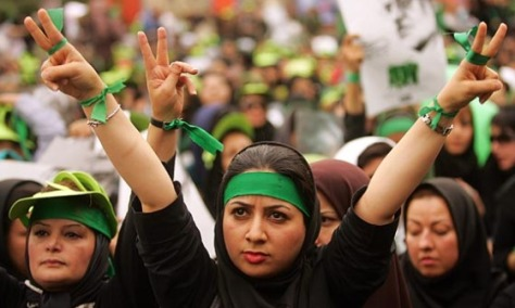 iranwomengreen