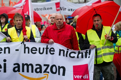 GERMANY-US-UNIONS-RETAIL-STRIKE-IT-AMAZON