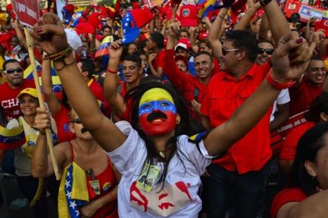 TOPSHOTS-VENEZUELA-ELECTION-CAMPAGIN-MADURO