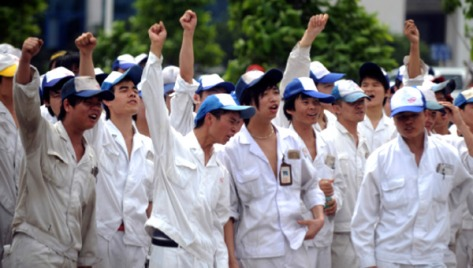 foshan-workers-strike