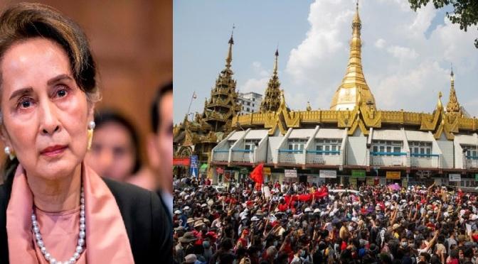 การต่อสู้เพื่อปลดแอกประชาชนพม่ากับแนวการเมืองของอองซานซูจี